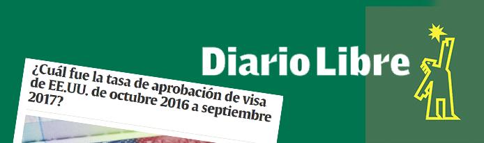 Cuál fue la tasa de aprobación de visa de EE.UU. de octubre 2016 a septiembre 2017